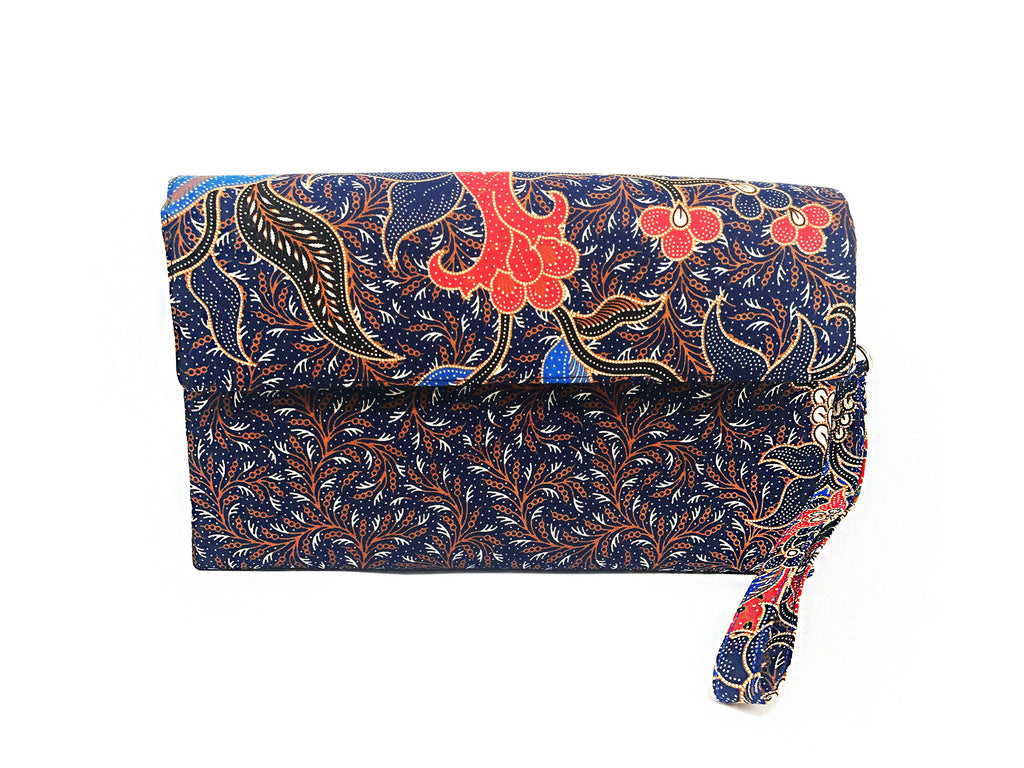 CWO Two-Way Bag / Clutch (Black & Red)