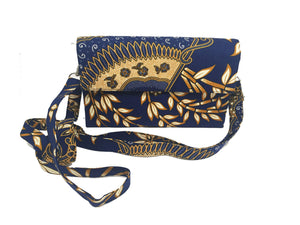 CWO Two-Way Bag / Clutch (Dark Blue)