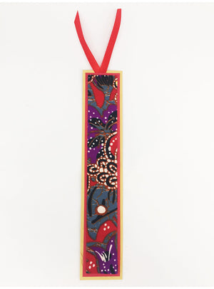 CWO Batik Bookmark (Purple)
