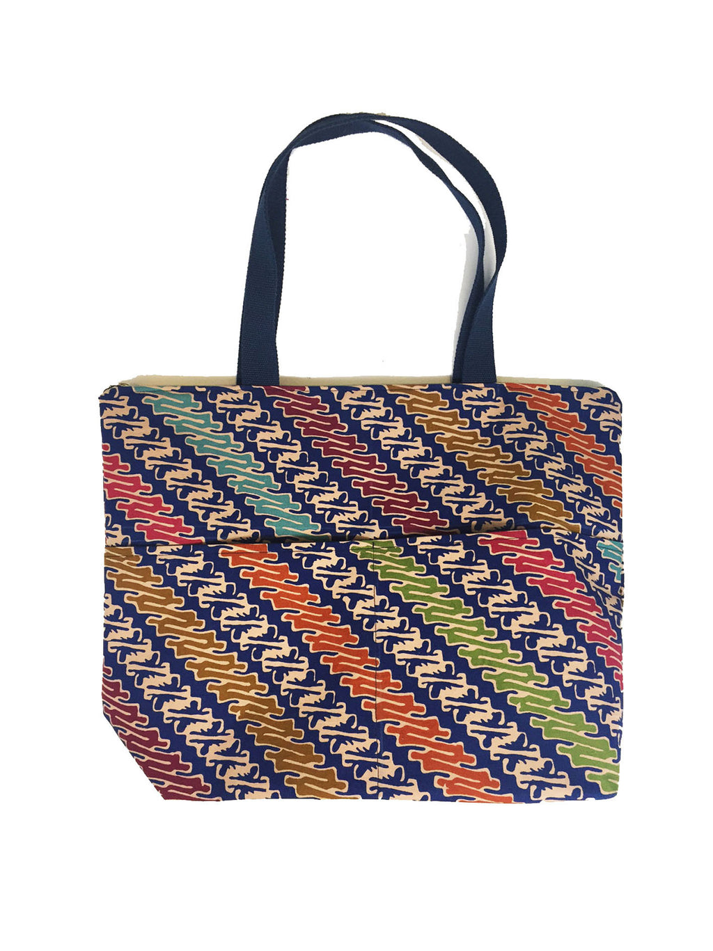 CWO Medium Tote Bag with Zipper (Colourful)