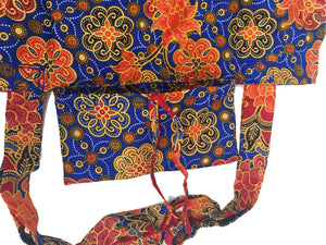 CWO Foldable Batik Shopping Bag (Blue)