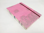 Mon Children's Handmade Fabric Notebook (Pink)