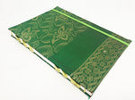 Mon Children's Handmade Fabric Notebook (Green)