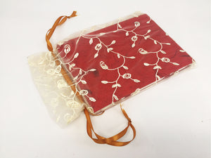 Mon Children's Handmade Notebook (Red)