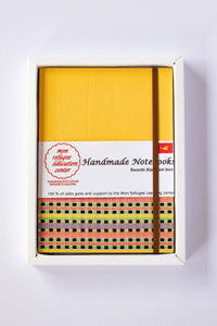 Mon Children's Handmade Notebook (Yellow)