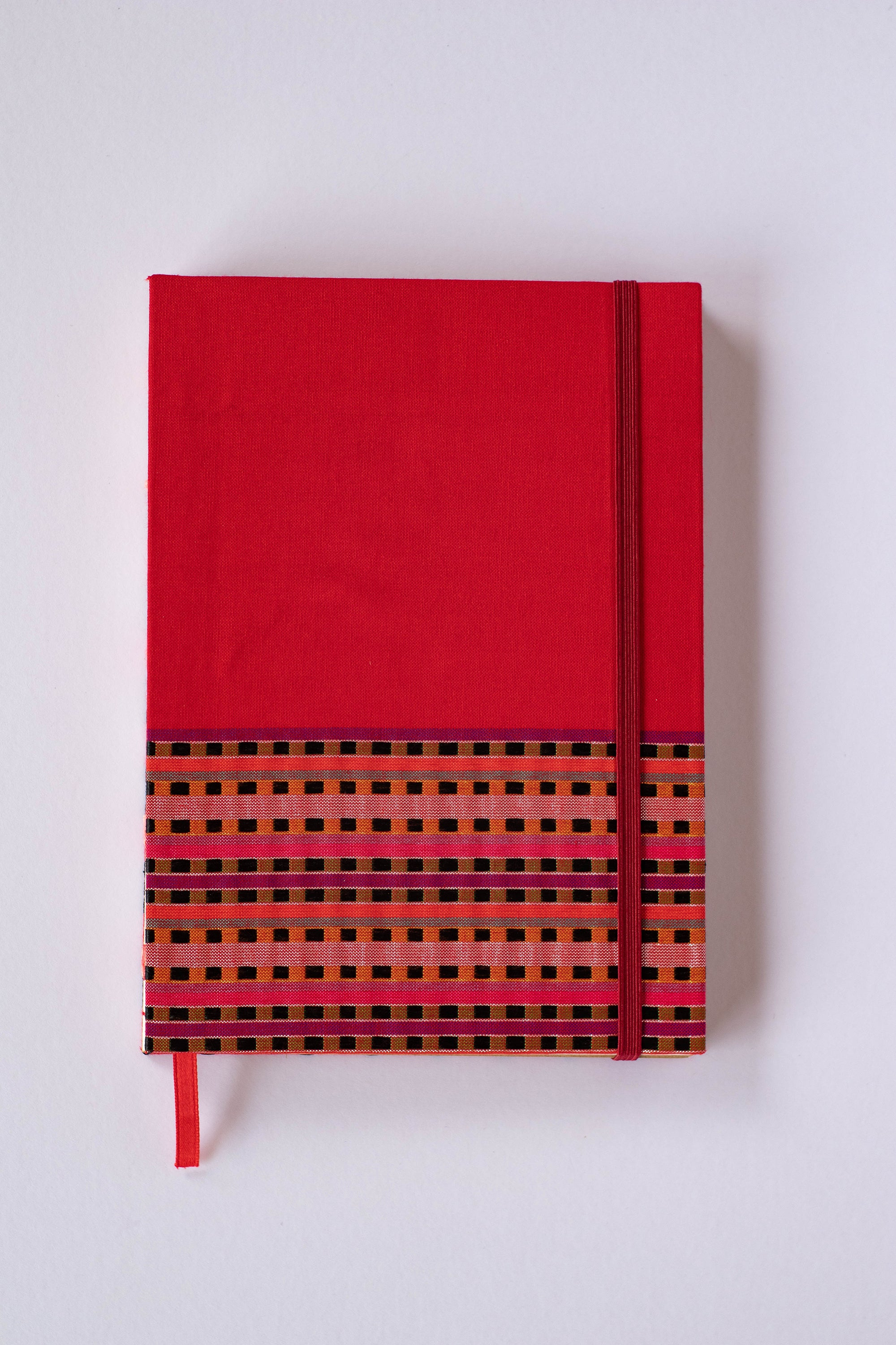 Mon Children's Handmade Notebook (Red 2)