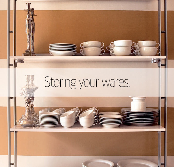 Storing your wares