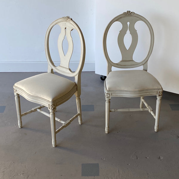 Pair of Swedish Dining Chairs