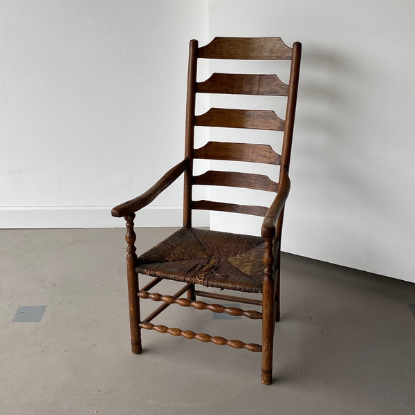 Extended Ladder Farm Back Chair