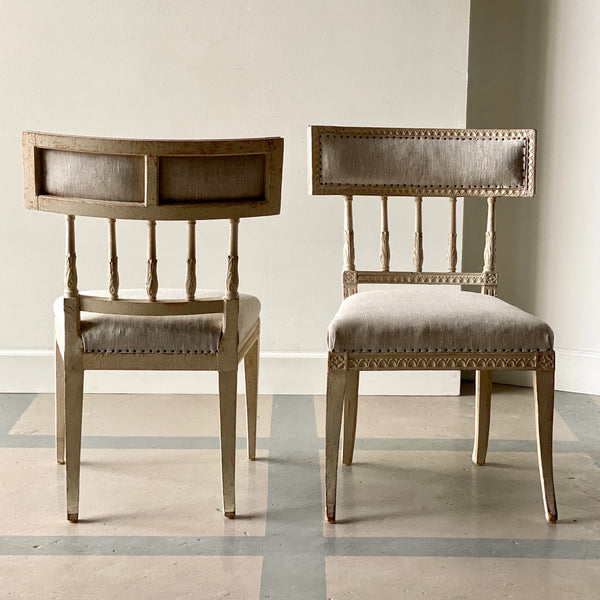Pair of Gustavian Chairs Circa 1790
