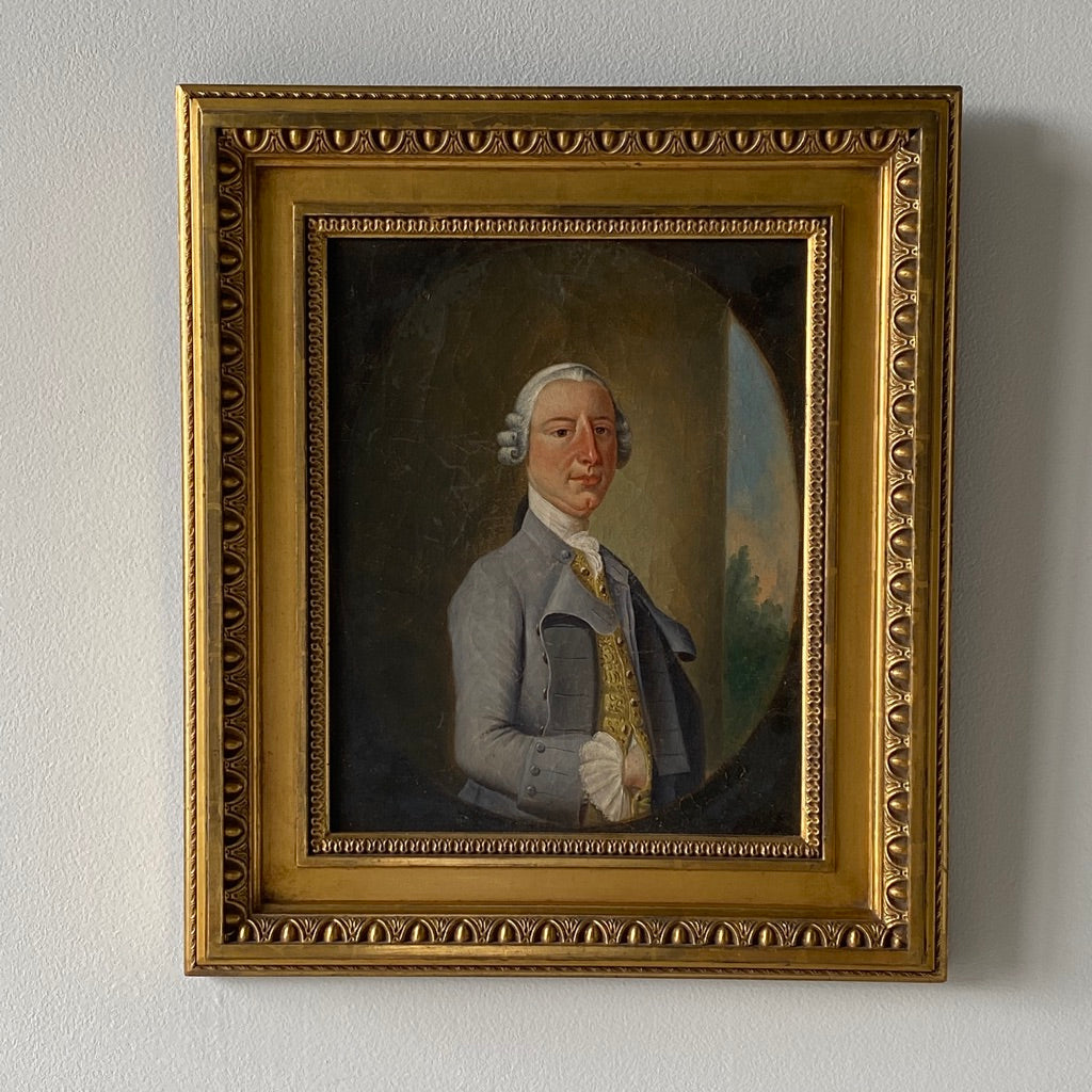 19th C. British School Portrait of a Gentleman - Get the Gusto, Art - interior design, shop Get the Gusto - Get the Gusto, Amazon Get the Gusto - gusto shop