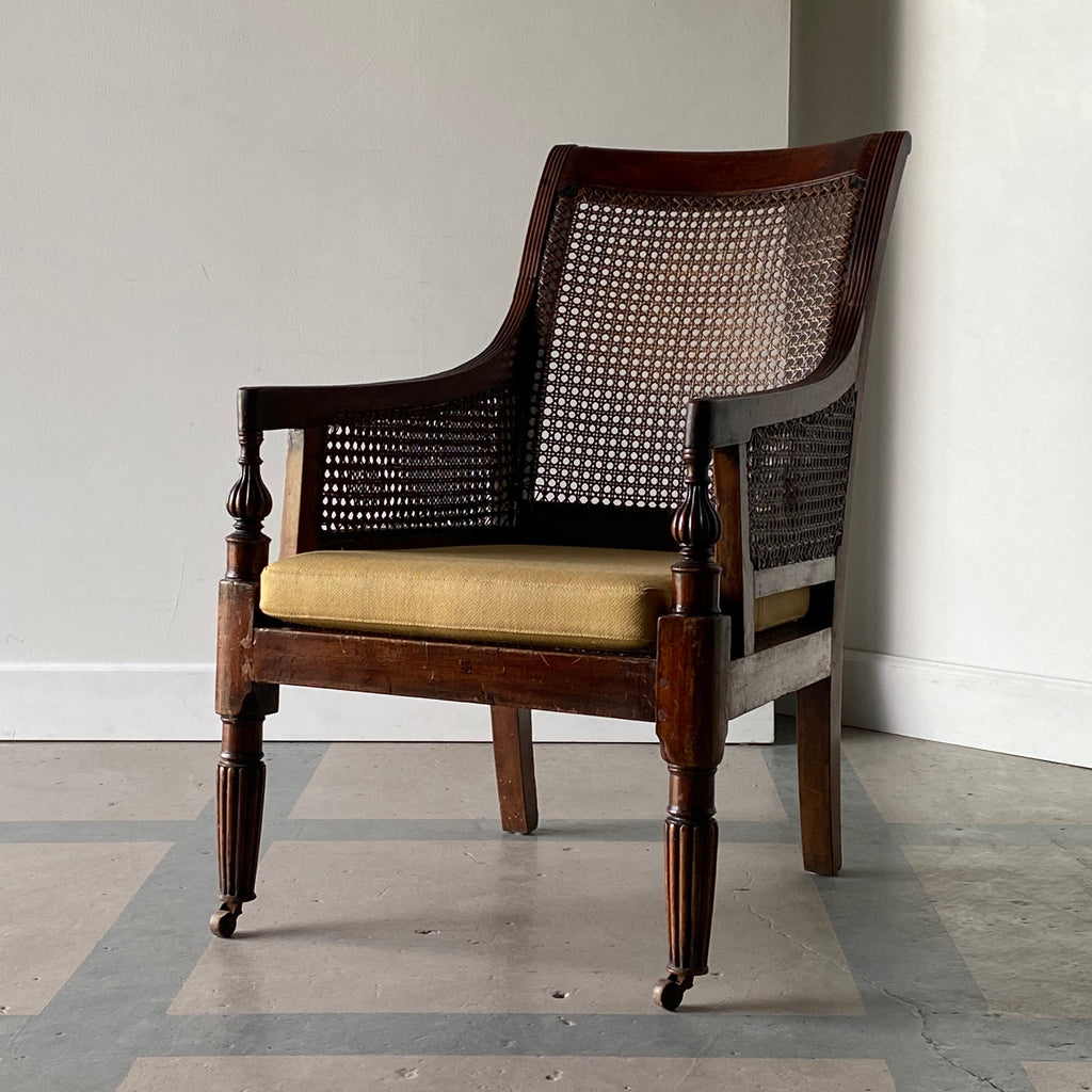 19th C. Regence Caned Armchair
