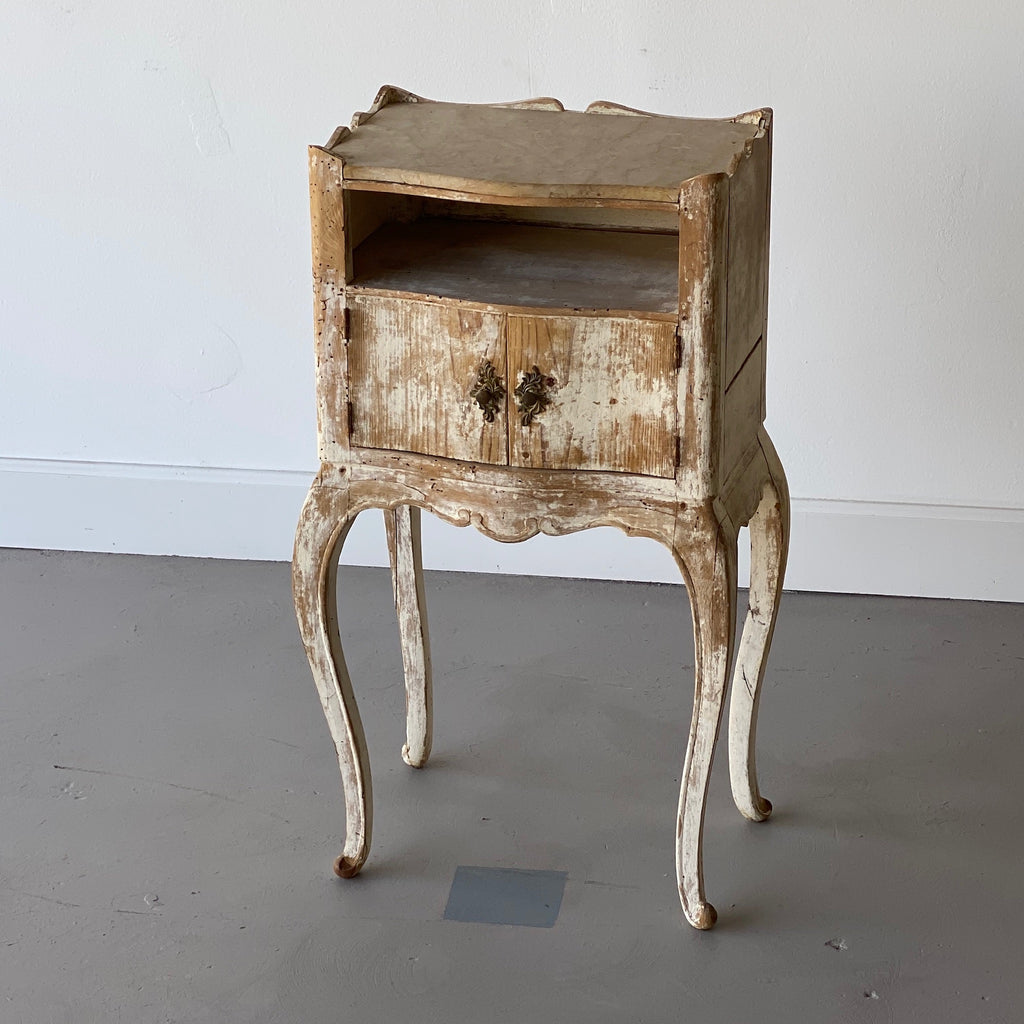 19th Century Stripped Italian Side Table