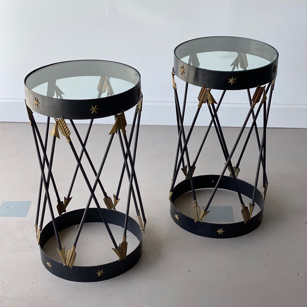 Pair of Mid-Century Decorative Side Tables