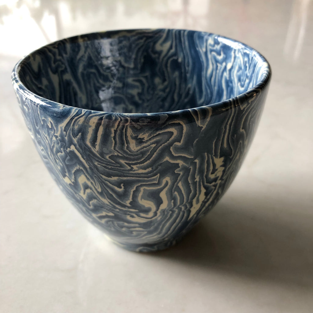 Blue High Bowl/Cup - Get the Gusto, Chromatic Ceramic - interior design, shop Get the Gusto - Get the Gusto, Amazon Get the Gusto - gusto shop