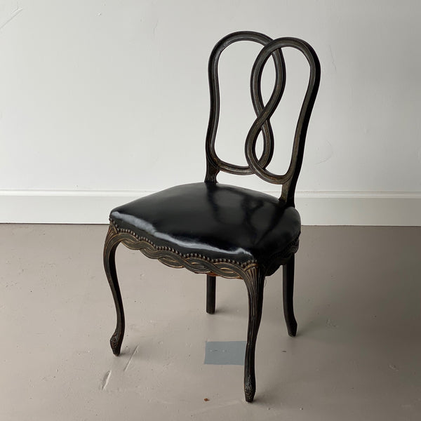 19th C. Painted Continental Chair