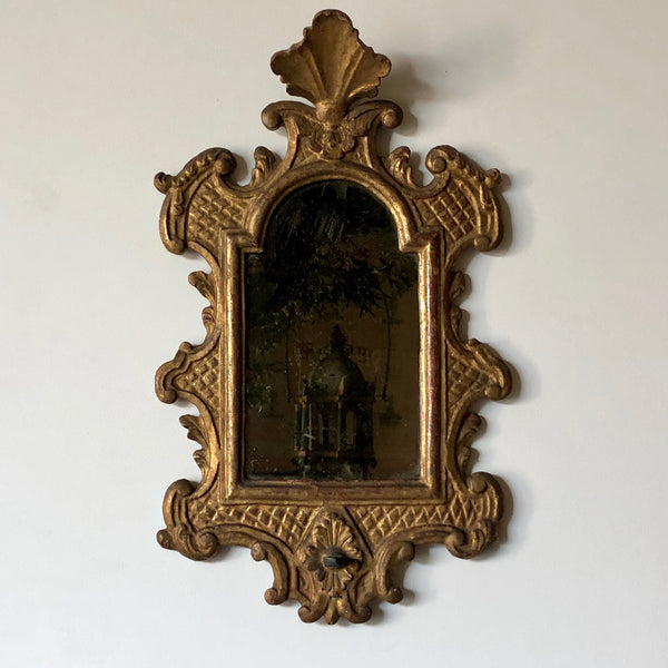 Venetian Baroque Gilt and Mirrored Sconce - Get the Gusto, Mirror - interior design, shop Get the Gusto - Get the Gusto, Amazon Get the Gusto - gusto shop