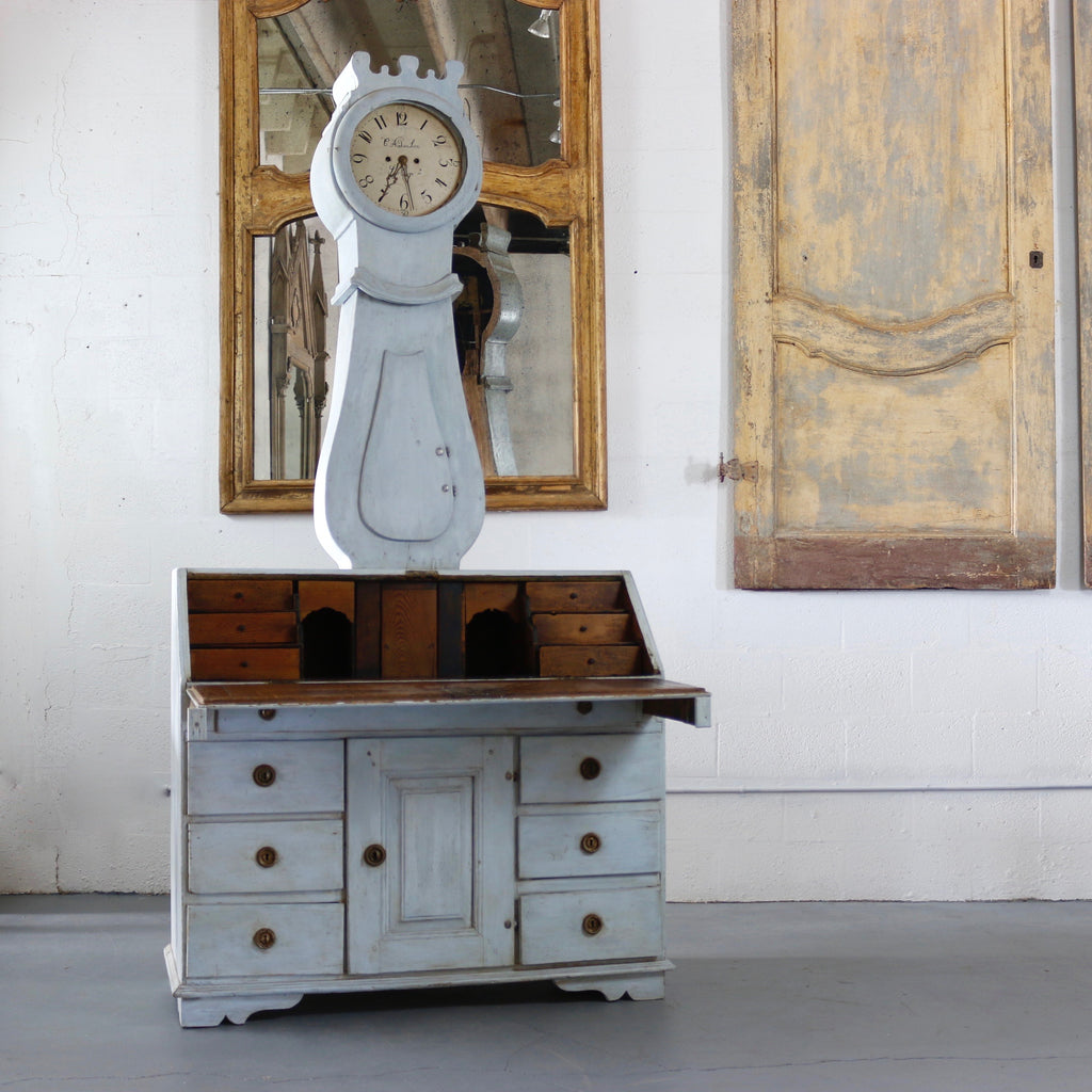 18th Century Painted Swedish Clock Desk - Get the Gusto, Desk - interior design, shop Get the Gusto - Get the Gusto, Amazon Get the Gusto - gusto shop