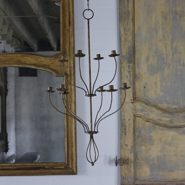 French Iron Chandelier - Get the Gusto, Chandelier - interior design, shop Get the Gusto - Get the Gusto, Amazon Get the Gusto - gusto shop