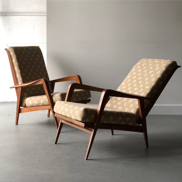 Pair of Mid-Century Reclining Chairs - Get the Gusto, Chairs - interior design, shop Get the Gusto - Get the Gusto, Amazon Get the Gusto - gusto shop