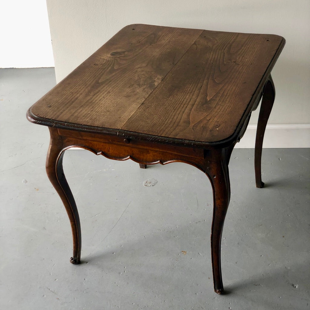 French Provincial Carved Walnut Side Table - Get the Gusto, Table - interior design, shop Get the Gusto - Get the Gusto, Amazon Get the Gusto - gusto shop