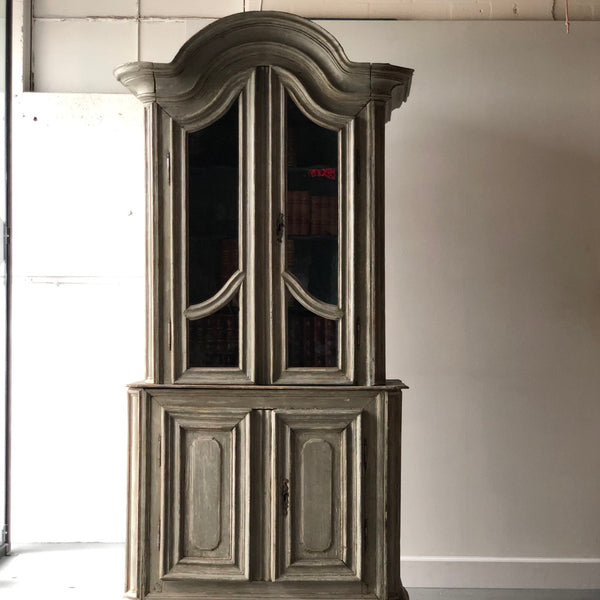 French Painted Two Part Cabinet - Get the Gusto, Case-goods - interior design, shop Get the Gusto - Get the Gusto, Amazon Get the Gusto - gusto shop