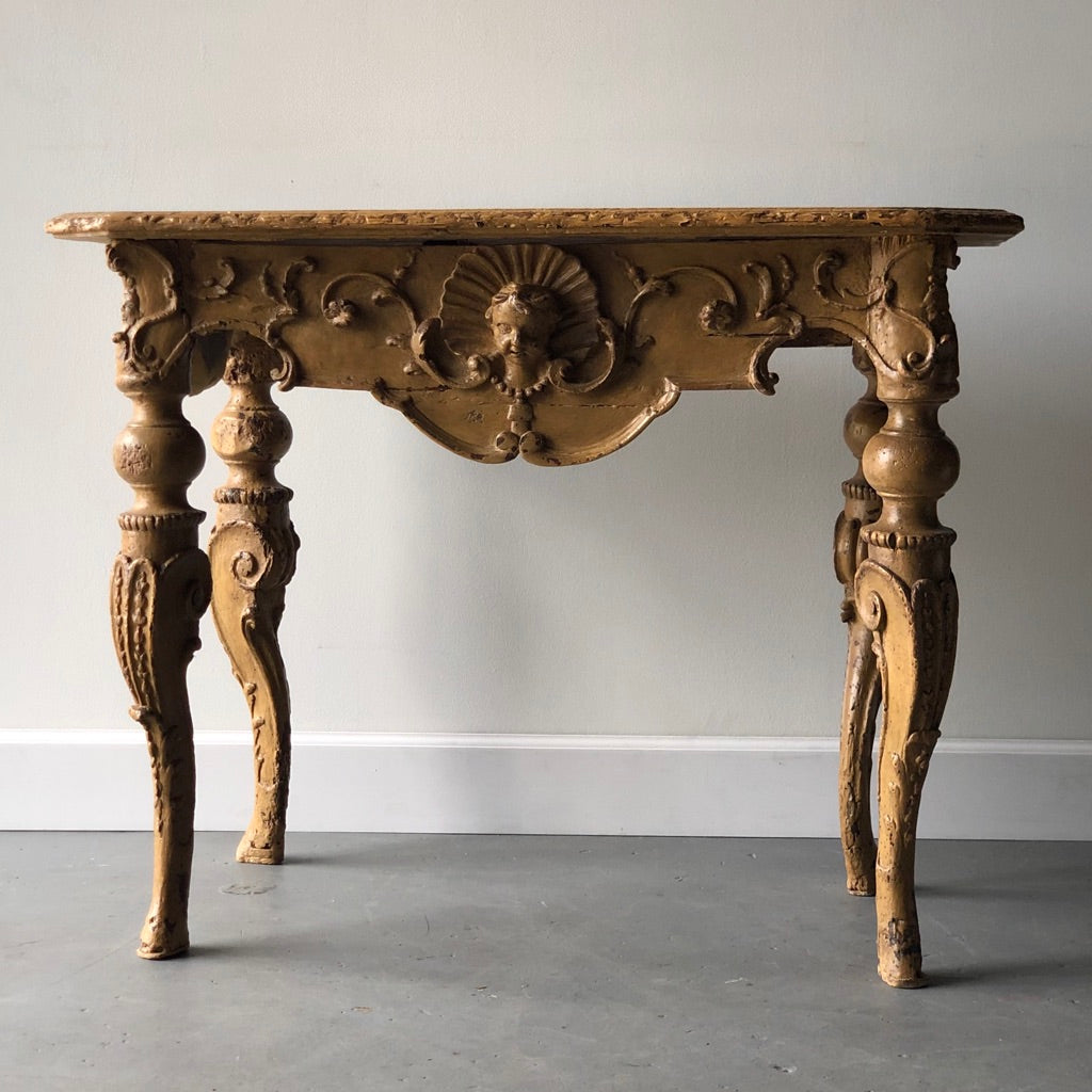 Louis XIV Ochre Console - Get the Gusto, Tables - interior design, shop Get the Gusto - Get the Gusto, Amazon Get the Gusto - gusto shop
