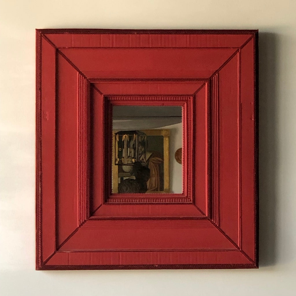 Handmade Cardboard Beveled Mirror - Get the Gusto, Mirror - interior design, shop Get the Gusto - Get the Gusto, Amazon Get the Gusto - gusto shop