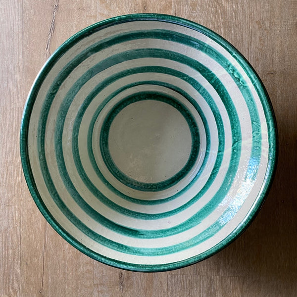 Hand Thrown Round Talavera Bowl