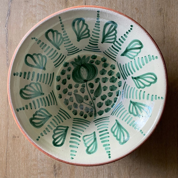 Hand Thrown Pomegranate Talavera Bowl