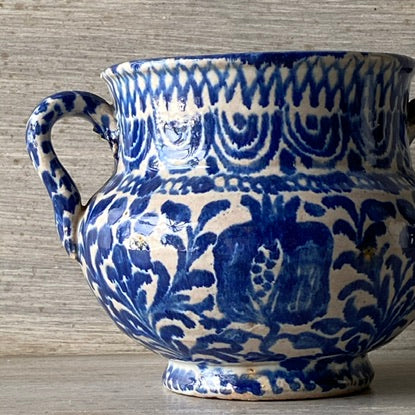 18th C. Spanish Sugar Pot - Get the Gusto, Pottery - interior design, shop Get the Gusto - Get the Gusto, Amazon Get the Gusto - gusto shop