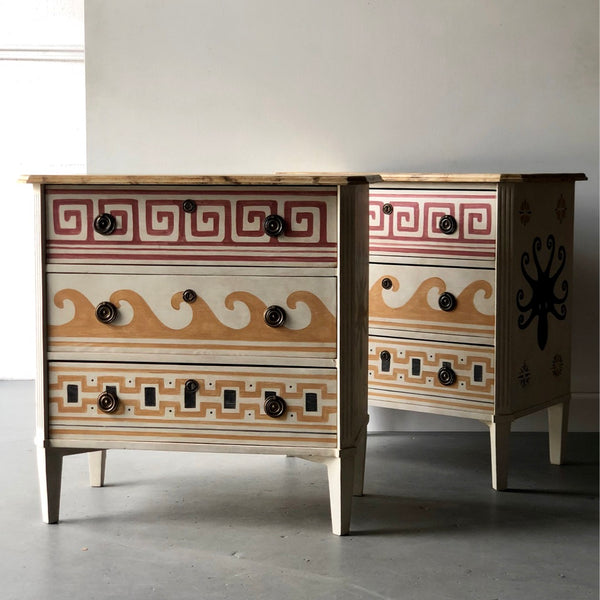 Pair of Villa Kerylos Chest - Get the Gusto, Case-goods - interior design, shop Get the Gusto - Get the Gusto, Amazon Get the Gusto - gusto shop