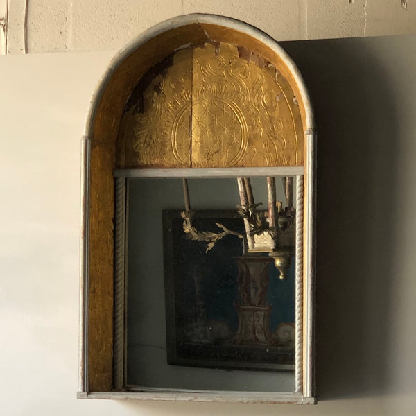 19th C. Spanish Gilded Niche Mirror - Get the Gusto, Mirrors - interior design, shop Get the Gusto - Get the Gusto, Amazon Get the Gusto - gusto shop