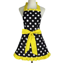 Waterproof And Oil-proof Polka Dot Apron