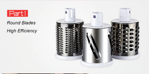 Manual Cutter, Slicer, Shredder and Grater