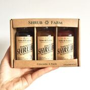 Shrub Cascade Sampler 4oz 3pack