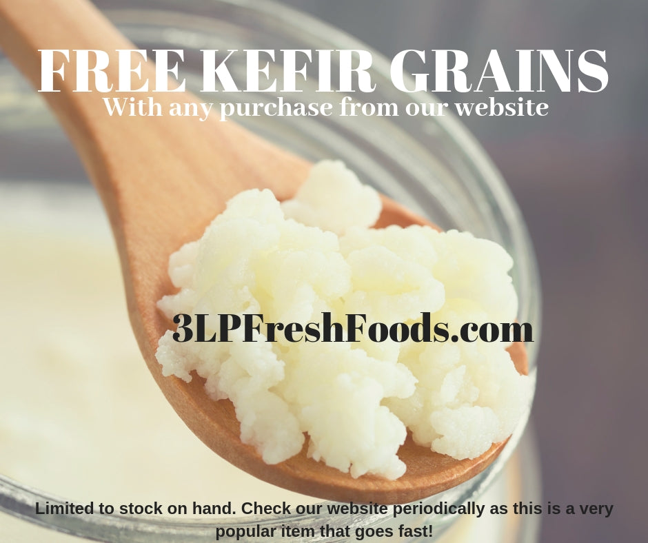Free Kefir Grains