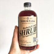 Shrub Blueberry & Lemon 16oz