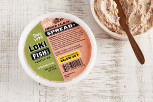 Loki salmon spread 8oz