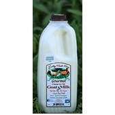Lucky Hook Grass-fed Pasteurized Goat Milk 1/2 Gallon