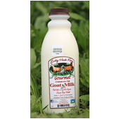 Lucky Hook Grass-fed Pasteurized Goat Milk Quart