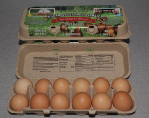 Williams Valley Family Farm Eggs One Dozen