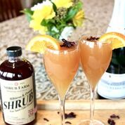 Shrub Hibiscus & Orange 16oz