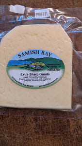 Samish Bay 2 Year Aged Gouda Cheese 1/3 lb
