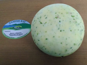 Samish Bay Fresh Queso Jalapeno Cheese 1/2lb