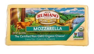 Rumiano Organic Mozzarella Cheese 8oz