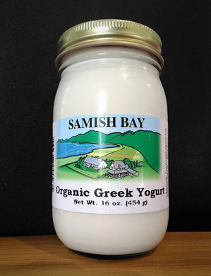 Samish Bay Greek Yogurt 16oz