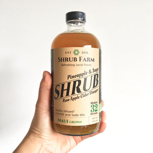 Shrub Pineapple & Sage 16oz
