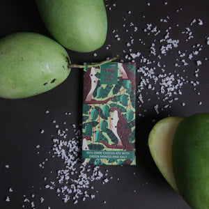 65% Dark Chocolate with Green Mango & Salt