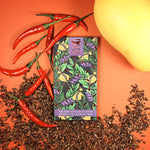 65% Dark Chocolate with Mango, Chili and Cacao Nibs